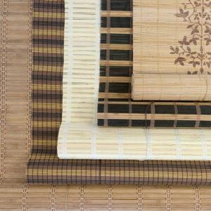 estores de bambu a medida colores tipos